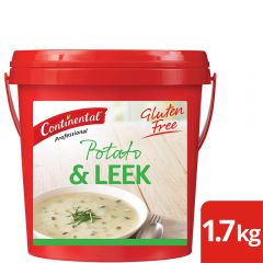CONTINENTAL Professional Potato and Leek Soup 1.7kg