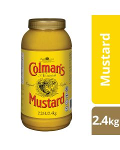 COLMAN'S Original English Mustard 2.4 kg/2.25 L jar