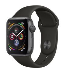 Apple Watch Series 4 GPS, 40mm Space Grey Black Band